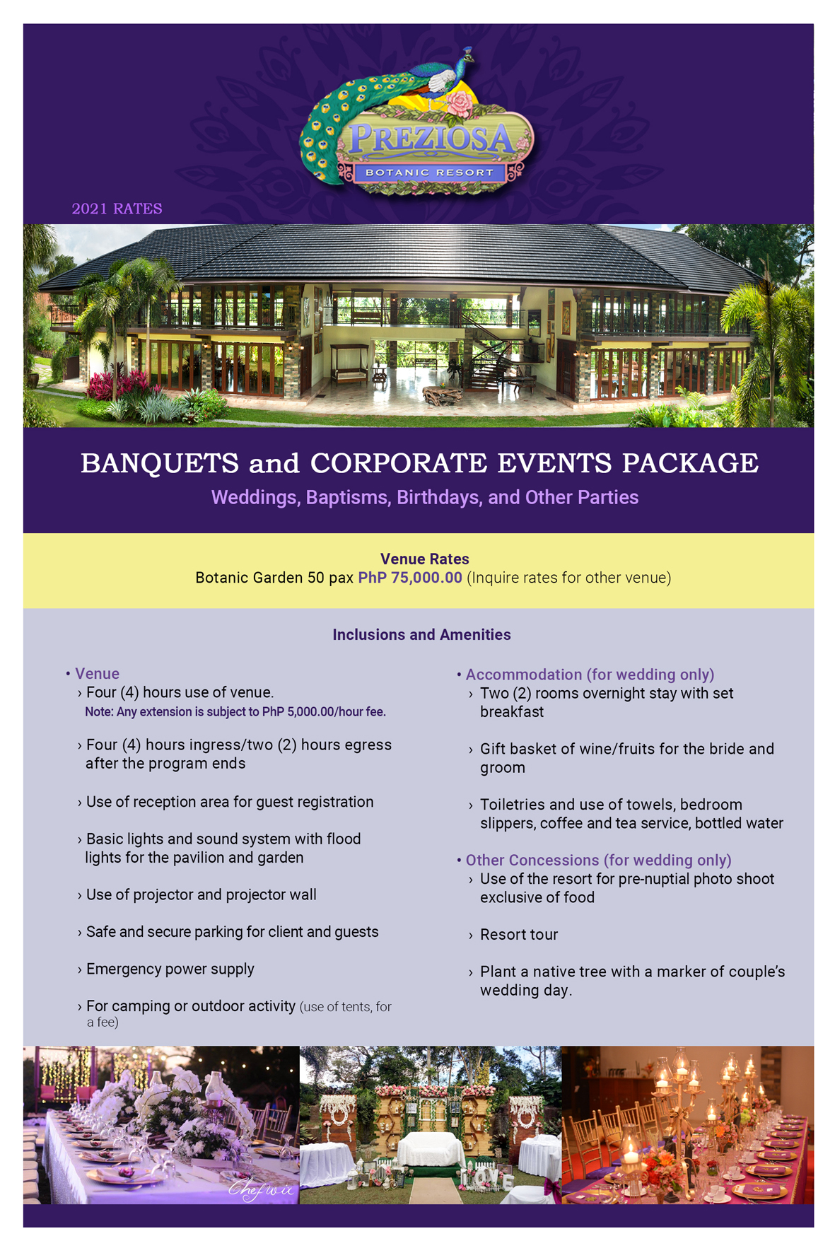 Banquets and Corporate Events 0520-21