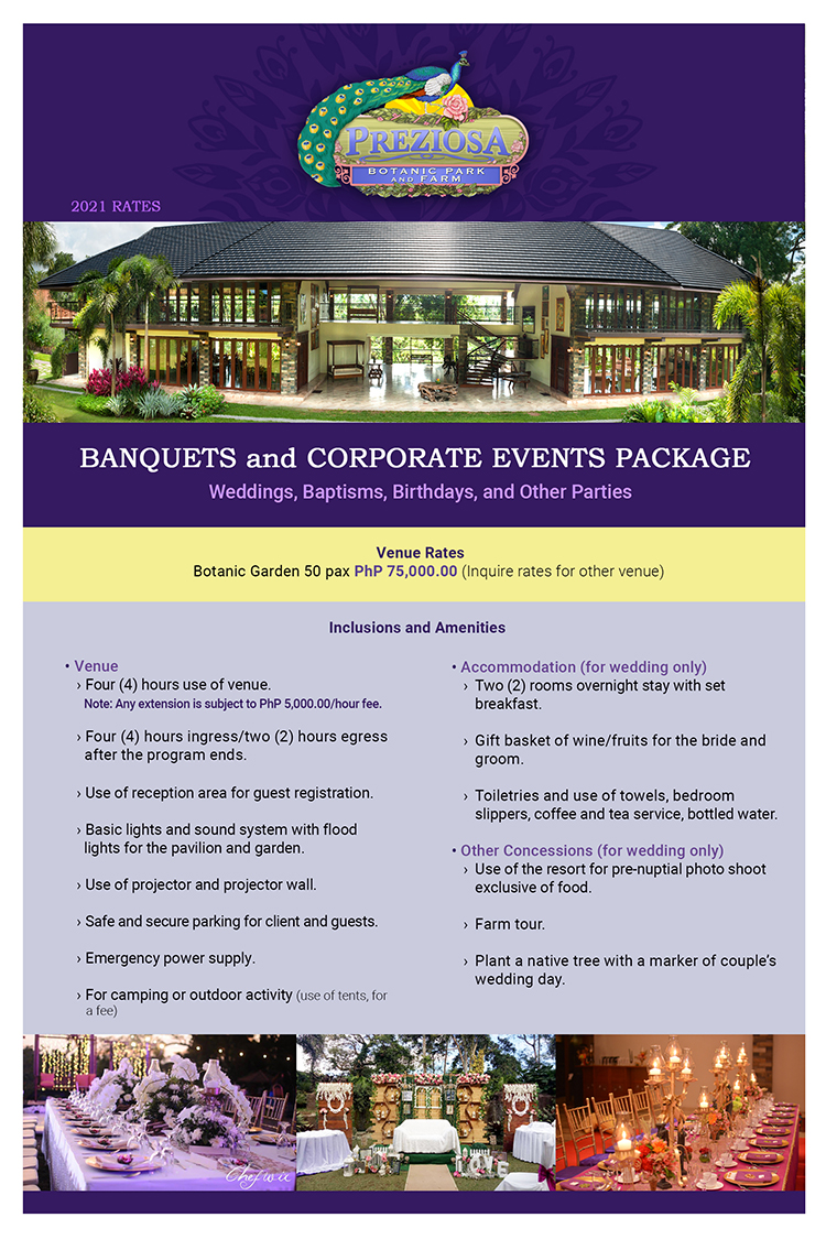 Banquets and Corporate Events 1